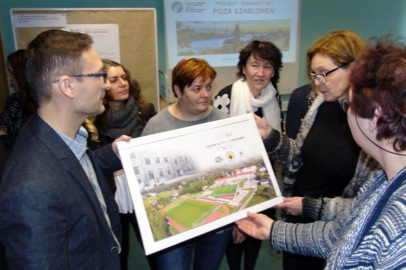 Polnische Lehrer zu Besuch an unserer Schule - Grundschule